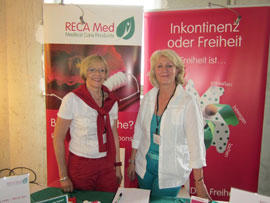 Karin Dirschbacher und Regine Uffelmann